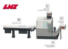 CNC podavače tyčí