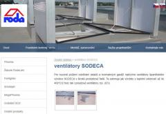 axiální ventilátory